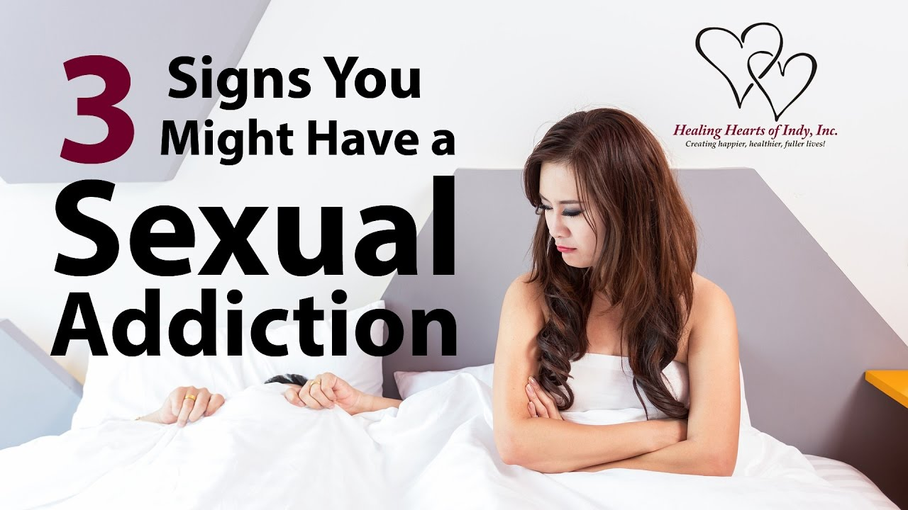Sex addiction in a female partner