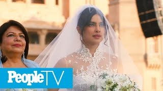 Watch Priyanka Chopra's Dramatic Walk Down The Aisle To Marry Nick Jonas | PeopleTV