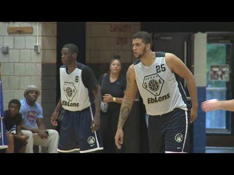 Jordan Williams hanging on to NBA dream