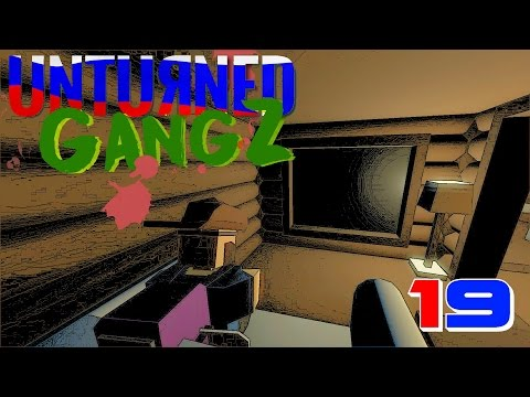 Unturned GangZ in RUSSIA (Multiplayer) E19 - MY PIMPED OUT ROOM!!