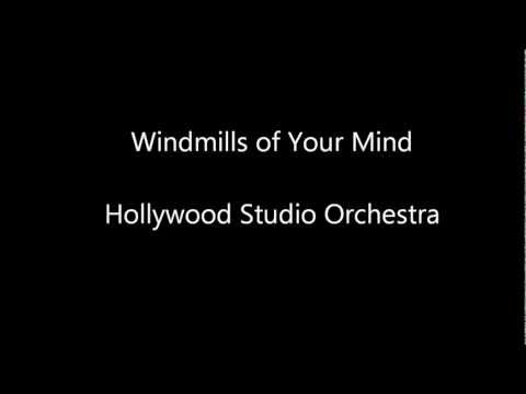 Windmills of Your Mind - Hollywood Studio Orchestra (Sax Version)