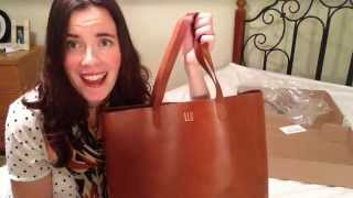 Madewell Transport Tote Unboxing Review