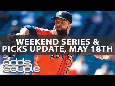 MLB Picks   Series Previews May 19th – 21st