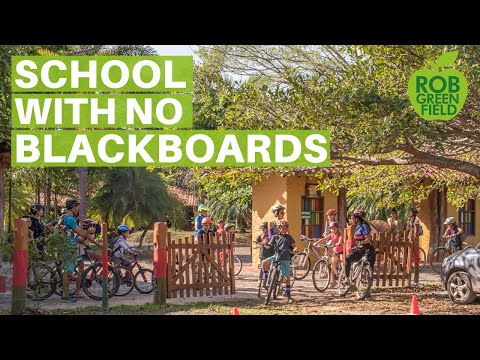 School with No Blackboards, Teachers or Homework