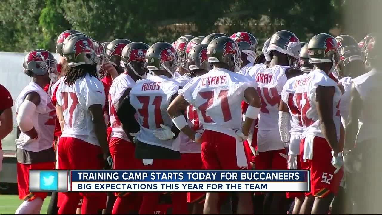 ee7f772e0 Confident Tampa Bay Buccaneers report for start of training camp ...