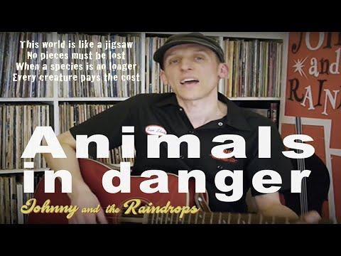 Endangered animals song for children. 'Animals in danger' with lyrics