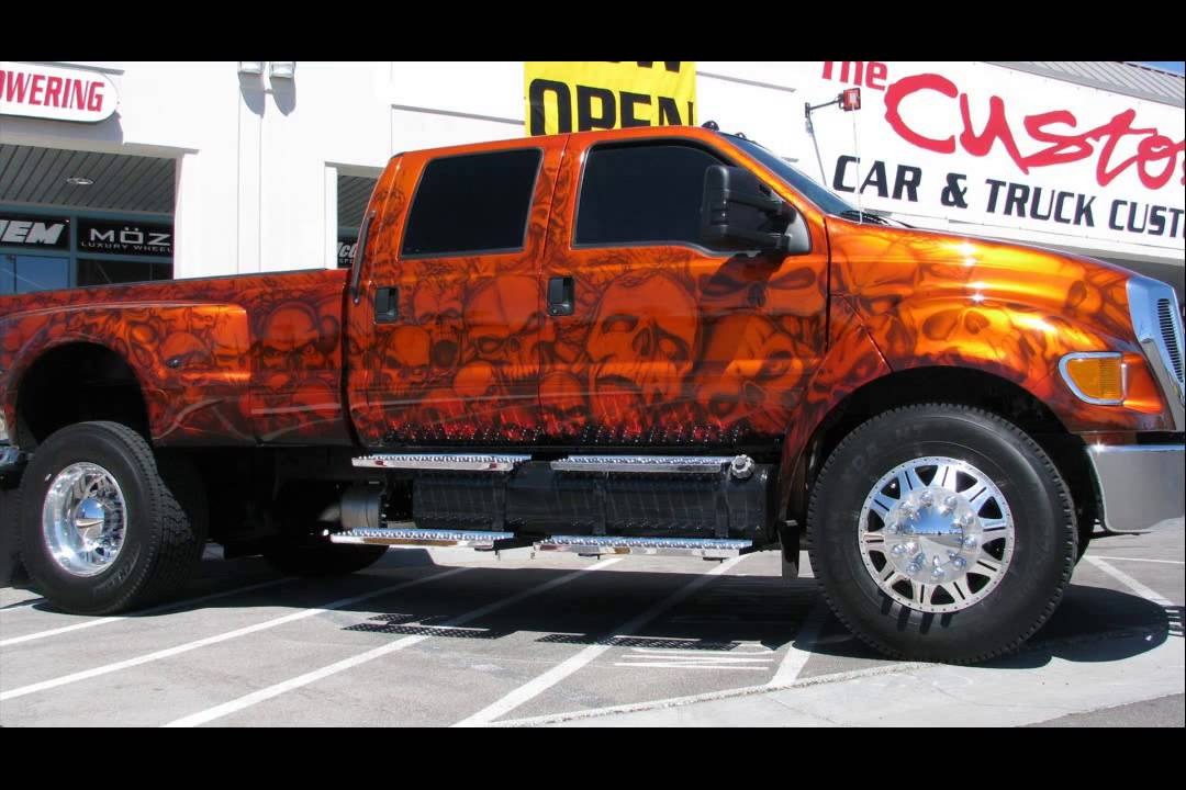Ford F650 Super Truck Youtube