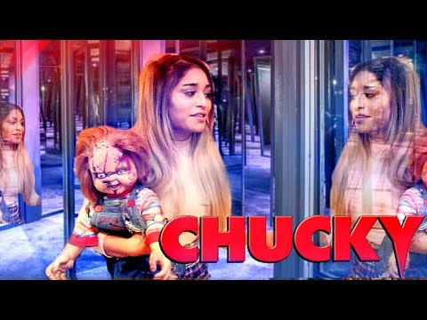 I WAS TRAPPED IN A MIRROR MAZE WITH CHUCKY