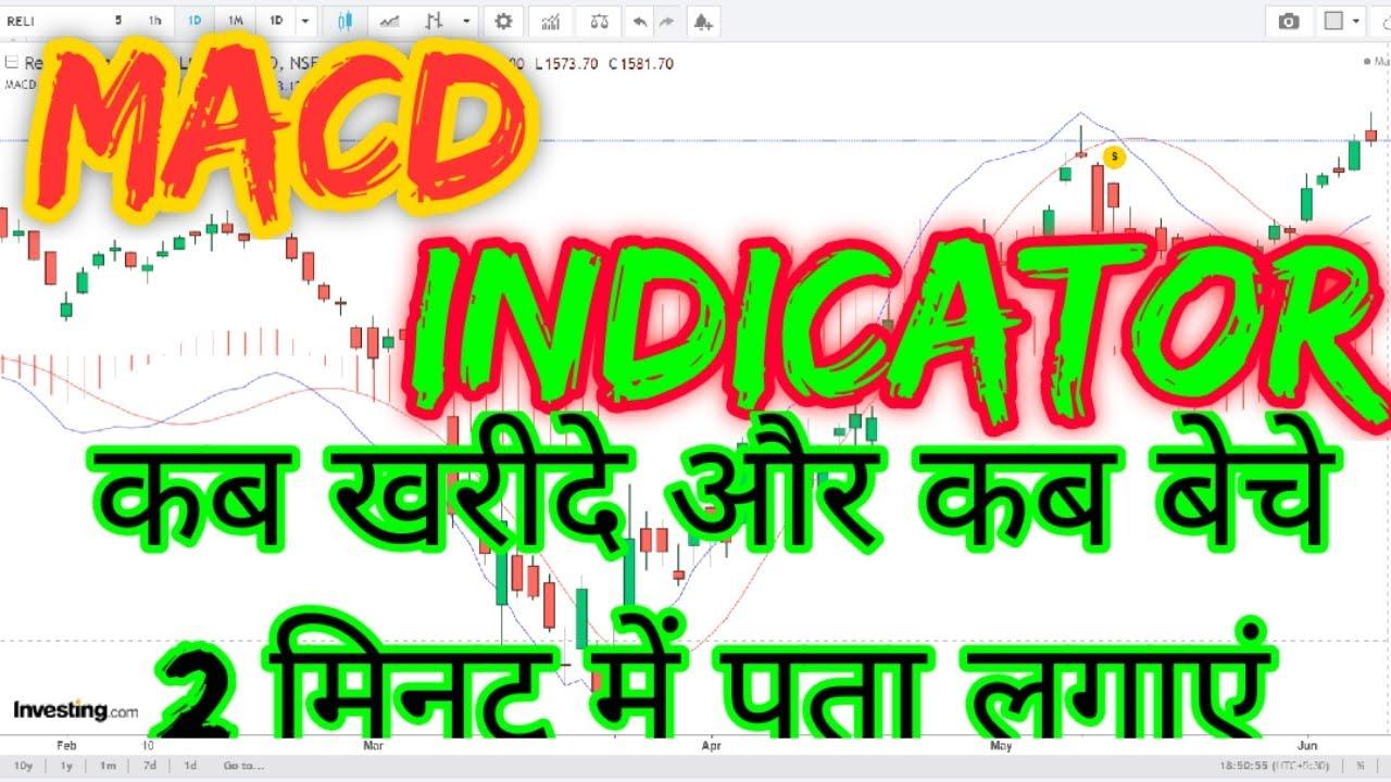 MACD Indicator Explained In Hindi | Stock Indicator KK