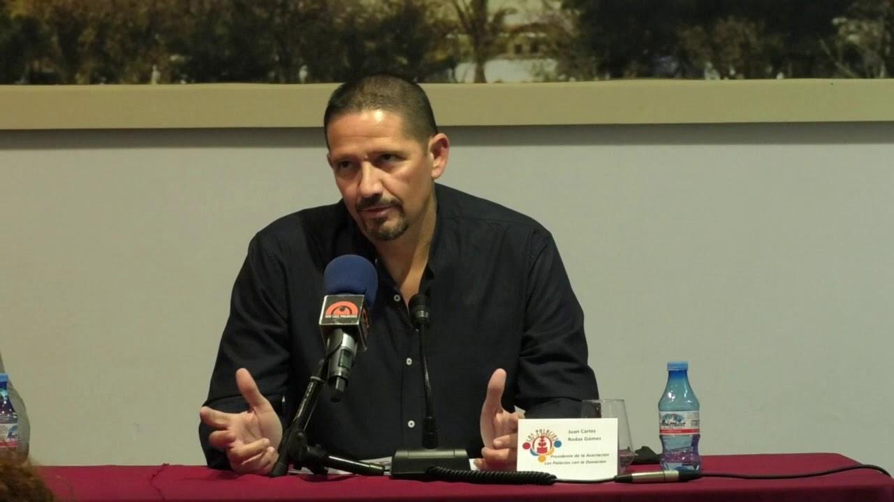 Noticia Los Palacios con la Donación publica Fuerza y Vida - YouTube