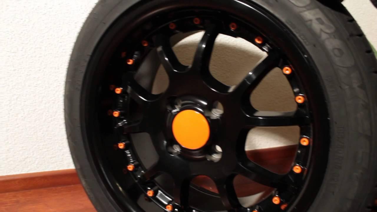 keskin kt3 black orange mit toyo proxes t1r 195 50 r15. Black Bedroom Furniture Sets. Home Design Ideas