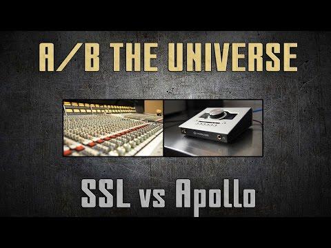 SSL Vs Apollo Twin Shootout