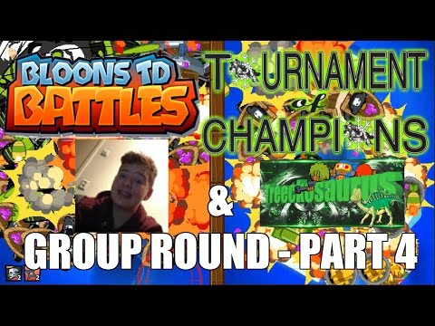 BTD Battles - E70 - TOC #2 - Group Round - Part 4