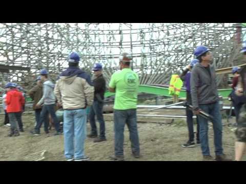 Hard Hat Tour of The Joker Construction Site at Six Flags Discovery Kingdom