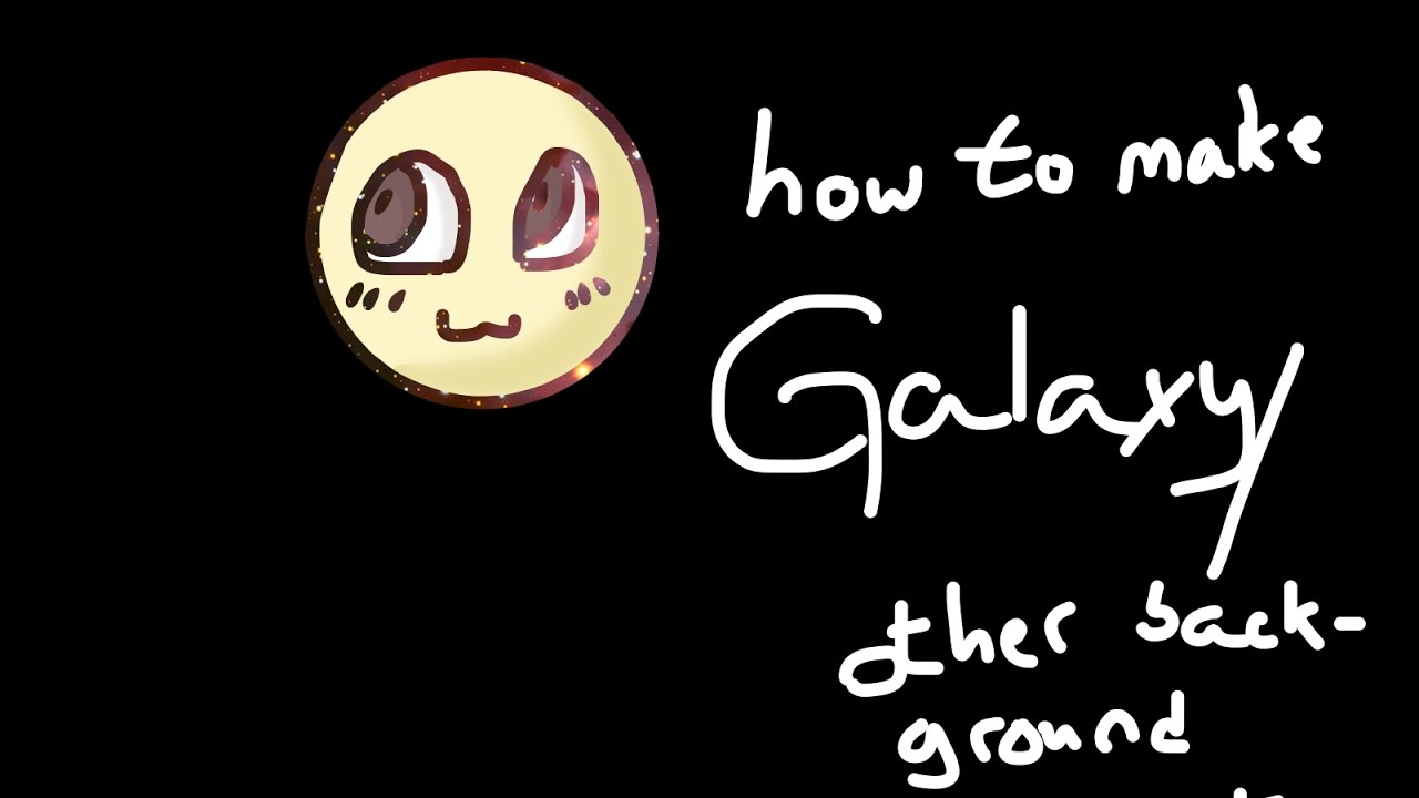 (OLD) How To Make GALAXY Lineart/Coloring | Firealpaca Tutorial