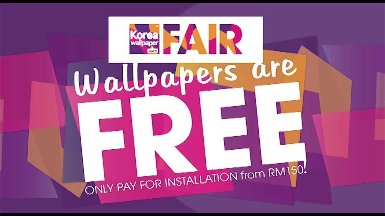 KOREA WALLPAPER FAIR - WALLPAPERS ARE FREE UNTIL 4 JAN 2014
