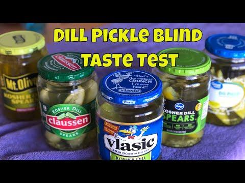 Best Store Bought Dill Pickle Blind Taste Test