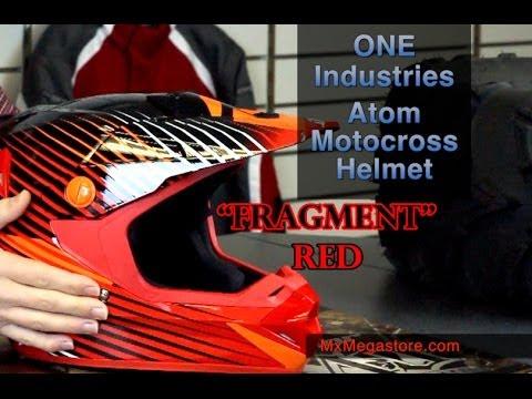 2014 One Industries Atom Motocross Helmet Review by MxMegastore.com