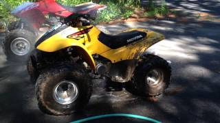 How To Clean Wash Dirt Mud Off Of ATV Dirt Bike Easy Way