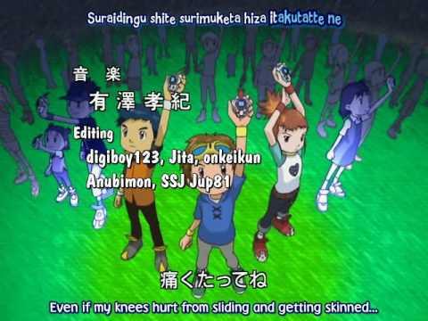 Digimon tamers openig (japanese) + lyrics