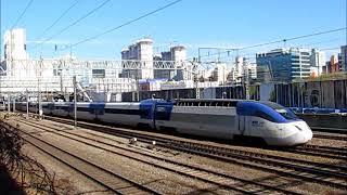 韓国KORAIL 客車列車・KTXなど 様々な列車が通過  Korea Train/Seoul City
