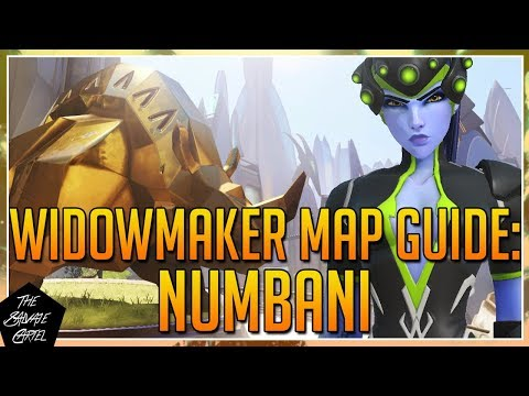 OVERWATCH: WIDOWMAKER MAP GUIDE: NUMBANI + A LOT OF SECRET SPOTS!