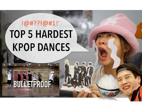 Top 5 Hardest Kpop Dances [Charissahoo]