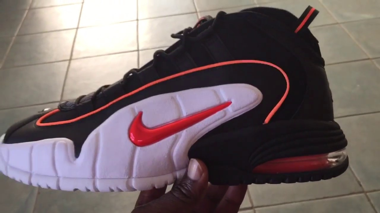 995203fd59 Men's Nike Air Max Penny 1 Total Orange Black 685153 002 - Housakicks  Online Shop - AHN