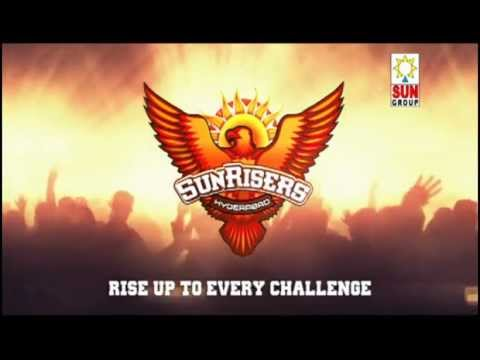 The official video of SunRisers, Hyderabad - Rise Up to Every Challenge Travel Video