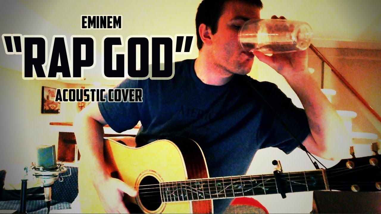 """Eminem """"Rap God"""" (Acoustic Cover) - YouTube  Eminem """"Ra..."""