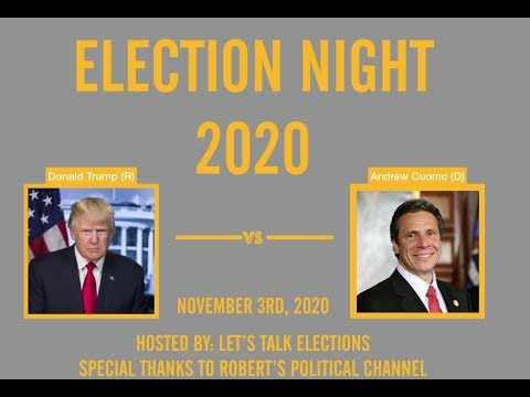 2020 Election Night | Andrew Cuomo vs Donald Trump