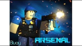ROBLOX-Trying to be Pro player in Arsenal