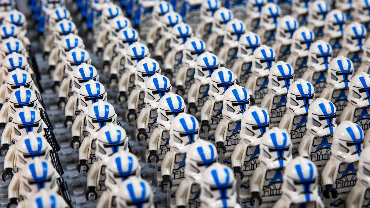 My LEGO Star Wars 501st Clone Army (2020 Edition) 4K Quality