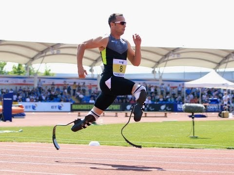 'Blade Runner's' artificial legs controversial at Olympics