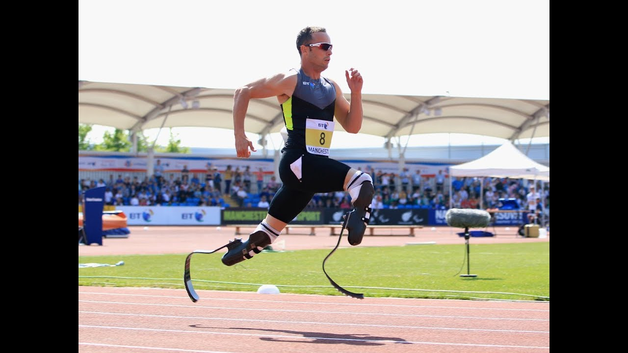 Watch on oscar pistorius running
