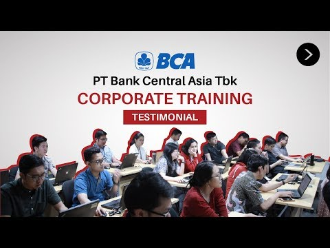 Corporate Training - PT Bank Central Asia | Testimonials