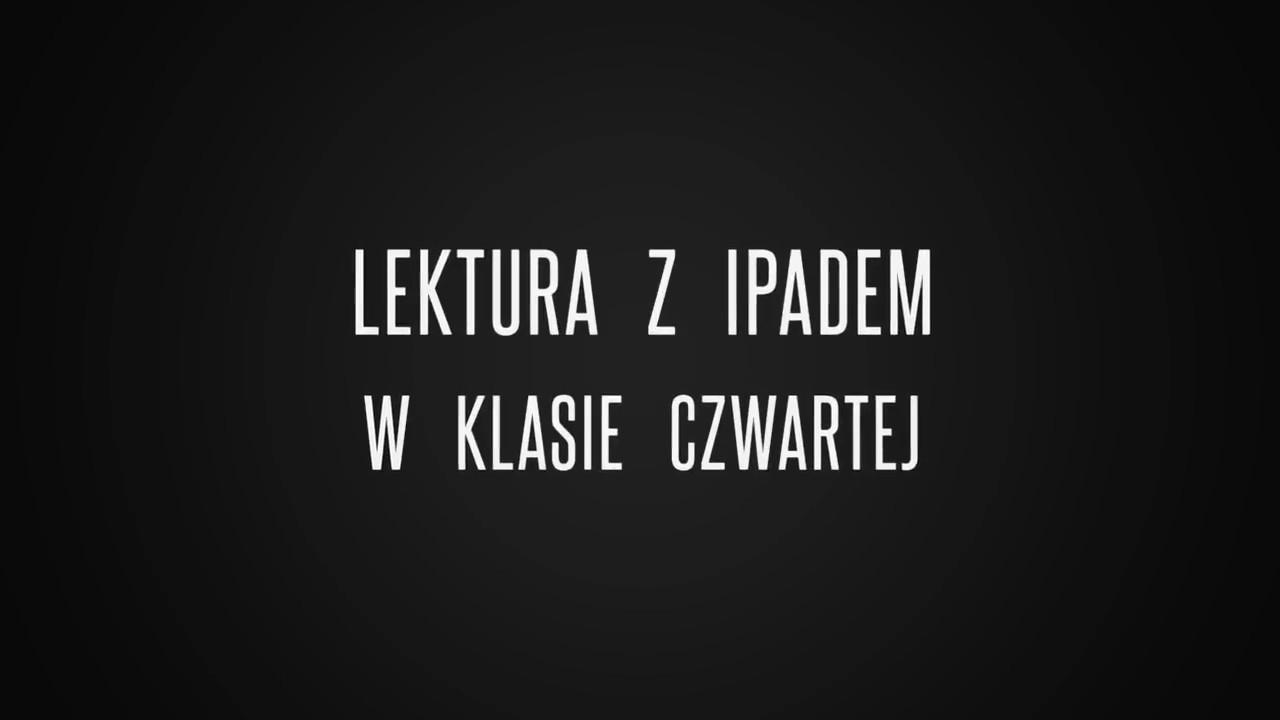 Lektura Z Ipadem W Kl Iv Mikołajek Youtube