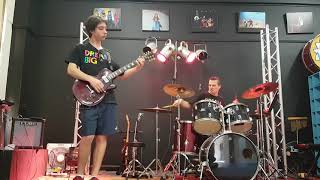 James Hopkins school spectacular 2017 electric guitar audition