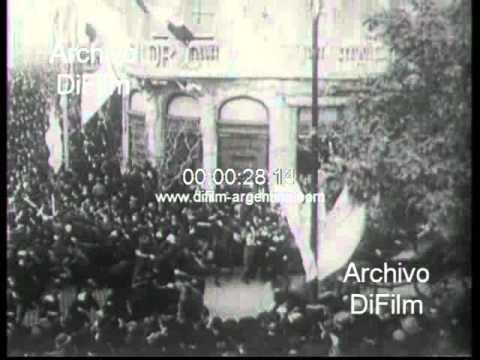 DiFilm - Presidente Alcorta inaugura obras del Congreso Nacional 1906