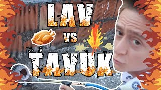 #ÇılgınDeney: LAV vs TAVUK!