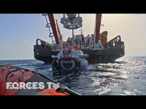 How To Rescue A Submarine In Danger | Forces TV