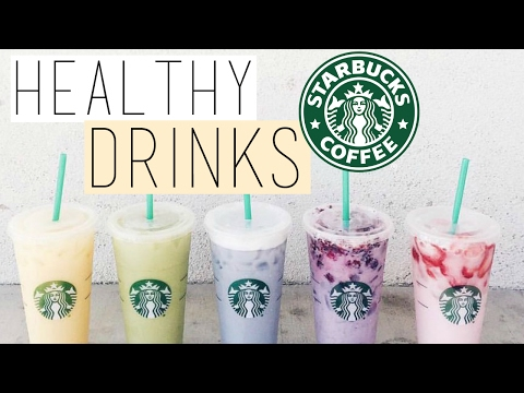 5 HEALTHY STARBUCKS DRINKS! Starbucks Life Hacks You NEED to KNOW!