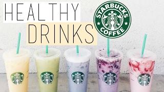 5 HEALTHY STARBUCKS DRINKS! Starbucks Life Hacks You NEED to KNOW!