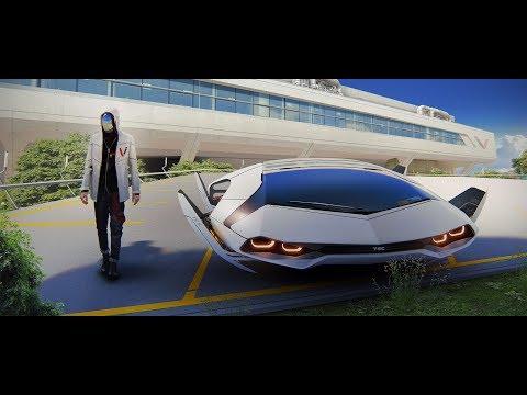 В 2020 году появятся летающие автомобили.