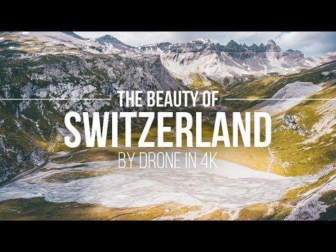 The Beauty Of Switzerland – By Drone In 4K | Flims Laax Schweiz Reisetipps