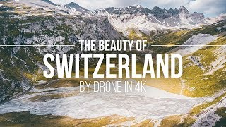 The Beauty Of Switzerland - By Drone In 4K | Flims Laax Schweiz Reisetipps