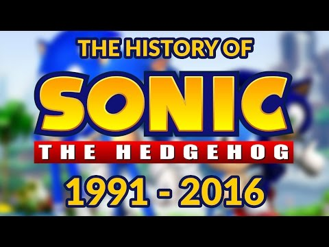 The History of Sonic The Hedgehog 1991 - 2016 (25th Birthday) Compilation of ALL Sonic Games