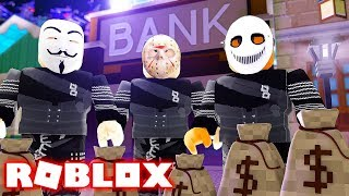 STARTING A HEIST GANG IN ROBLOX (Roblox Heist Simulator)