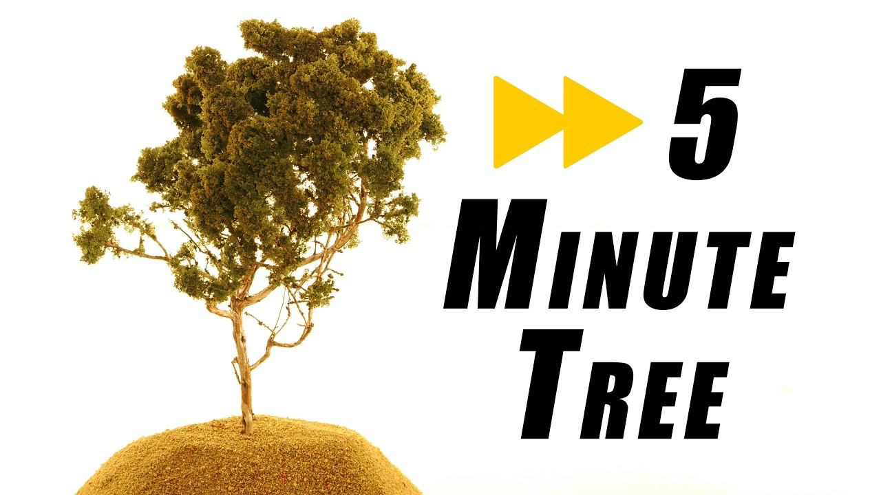 How long does it take to make a realistic tree – Model Railroad ...
