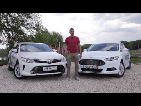 Ford Mondeo 2015 против Toyota Camry 2015. Игорь Бурцев